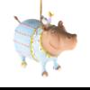 Ludibrium-Krinkles - Jambo Hugo Hippo Ornament
