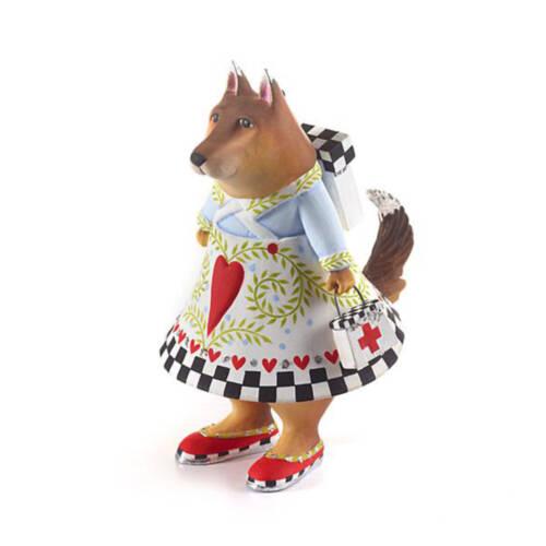 Ludibrium-Krinkles - Deutscher Schäferhund Bekah - Rettungshund Ornament