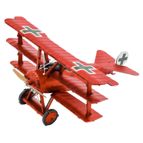 "Ludibrium-Metal Earth - Tri-Wing Fokker ""Roter Baron MMS210"