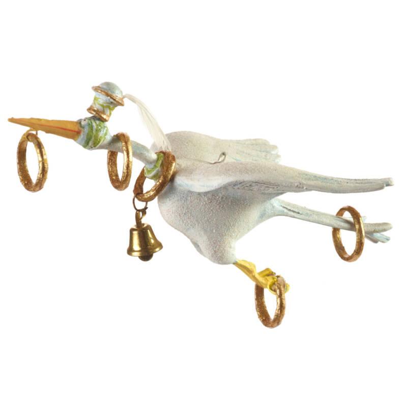 Ludibrium-Krinkles - 12 Days 5 Golden Rings Ornament