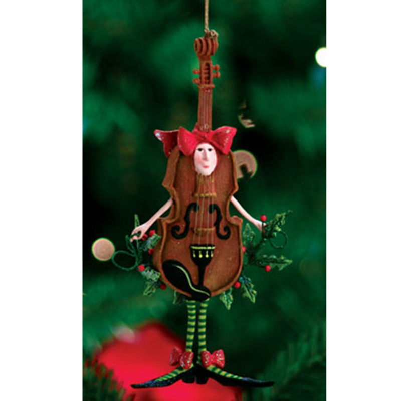 Ludibrium-Krinkles - Violon Christmas Ornament