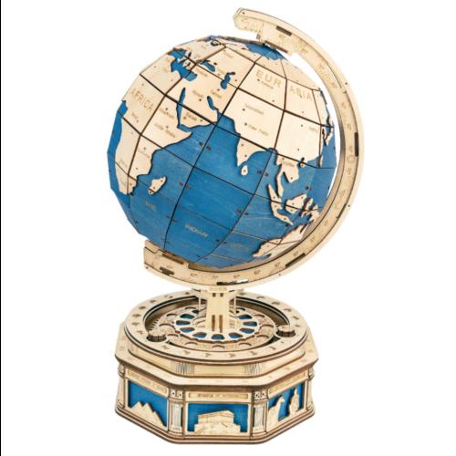 Ludibrium-ROKR - der Globus - mechanisches Holzmodell