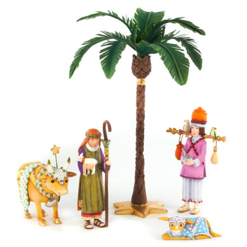 Ludibrium-Krinkles - Nativity Mini Figuren - Hirten Set