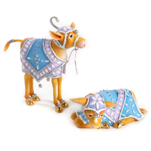 Ludibrium-Krinkles - Nativity Mini Figuren - 2 Kälbchen