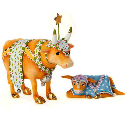 Ludibrium-Krinkles - Nativity Mini Figuren - Kuh mit Kalb
