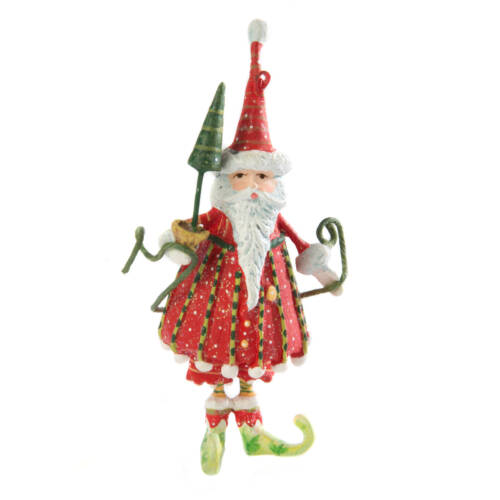 Ludibrium-Krinkles - Dash Away - Santa Mini Ornament