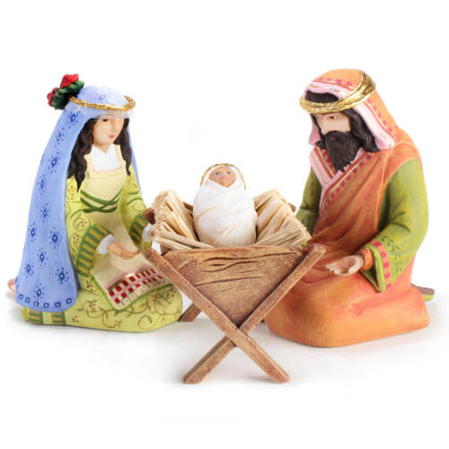 Ludibrium-Krinkles - Nativity Mini Figuren - Krippenfiguren Set
