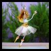 Ludibrium-Krinkles - World Edition Moon and Stars Fairy Ornament