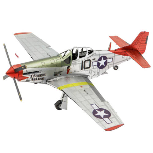 Ludibrium-Metal Earth - Iconx Tuskegee Airmen P-51D Mustang ICX142