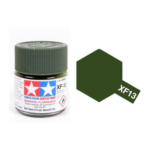 Ludibrium-Tamiya - Acryl Farbe Mini XF-13 JA Grün 10 ml