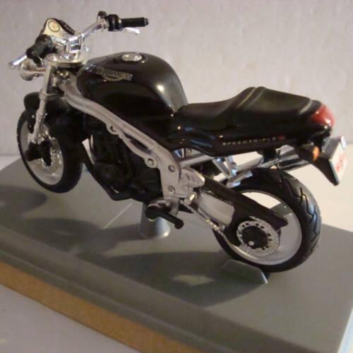 Ludibrium-Maisto - Triumph Speed Triple 955i black 1:18 -Diecast Modell Motorrad 39342