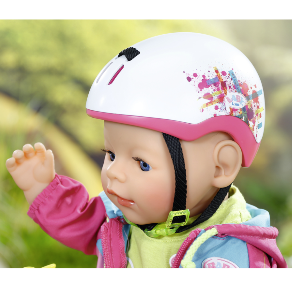 Ludibrium-Zapf Creation - BABY born - PlayFun Fahrradhelm