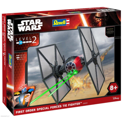 Ludibrium-Revell 06693 - Star Wars Easy Kit First Order Special Forces TIE Fighter 1:35
