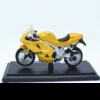 Ludibrium-Maisto - Triumph Daytona 955i goldgelb 1:18 -Diecast Modell Motorrad 39341