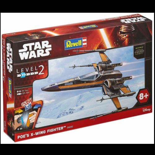 Ludibrium-Revell 06692 - Star Wars Easy Kit Poe's X-wing Fighter 1:50