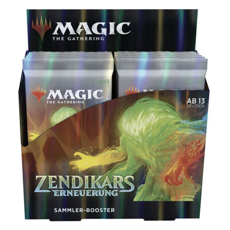 "Ludibrium-Magic the Gathering - Zendikars Erneuerung Sammler Booster ""Deutsch"""