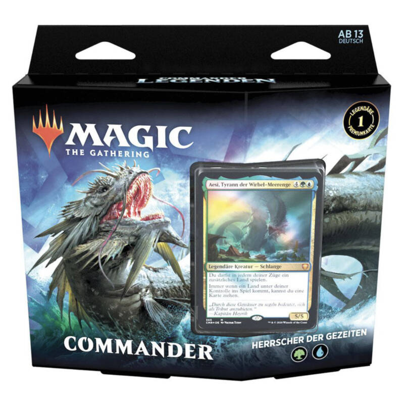 "LUDIBRIUM-Magic the Gathering - Commander Legenden Commander-Deck ""Deutsch"""