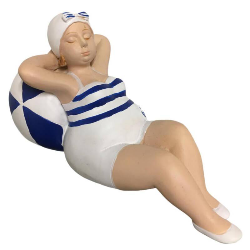 """Ludibrium-Figur """"Franzi"""" liegend mit Ball"""