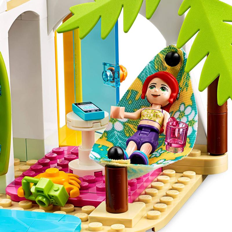 Ludibrium-LEGO Friends 41428 - Strandhaus mit Tretboot