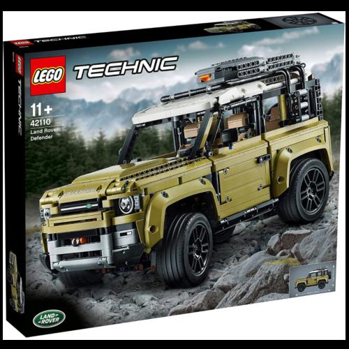 Ludibrium-LEGO Technic 42110 - Land Rover Defender - Klemmbausteine