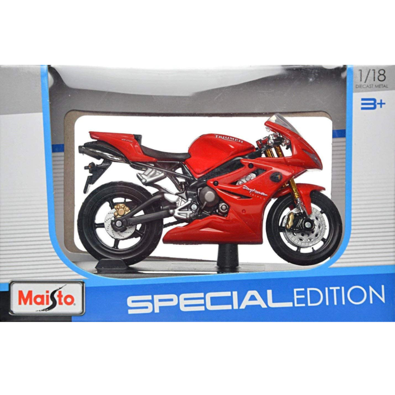Ludibrium-Maisto - Triumph Daytona 675 rot 1:18 -Diecast Modell Motorrad 55000
