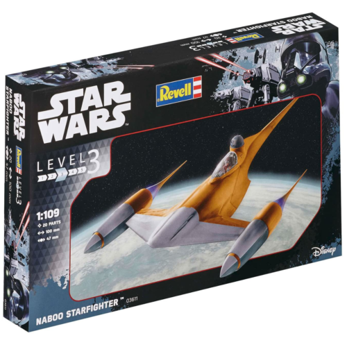 Ludibrium-Revell 03611 - Kit Star Wars Naboo Starfighter 1:109
