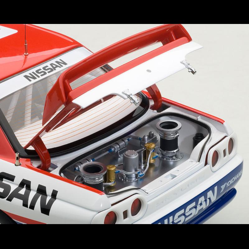 Ludibrium-Autoart 204324 - Nissan Skyline GT-R R32 No.1 Bathhurst Winner 1991 - 1:18