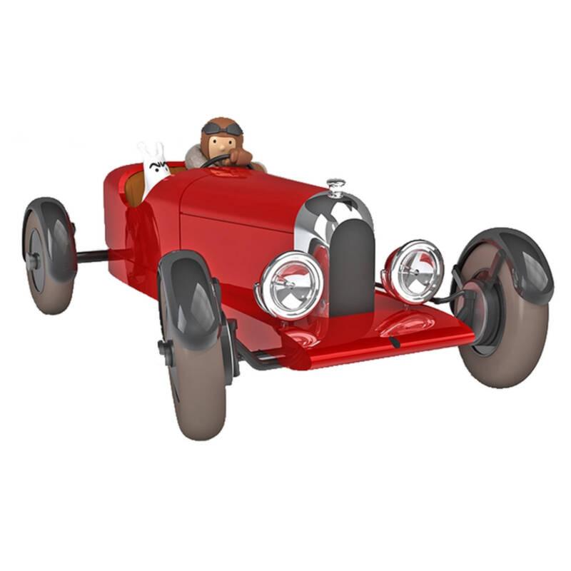 Ludibrium-Moulinsart - Sammlerauto Tim und Struppi, der Rote Amilcar der Sowjets Nr. 38