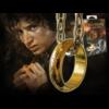 """Ludibrium-Herr der Ringe - der """"eine Ring"""" (vergoldet)"""
