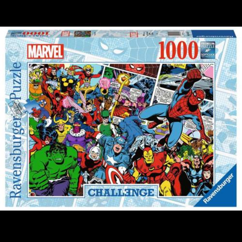 Ludibrium-Ravensburger Puzzle - Challenge Marvel - 1000 Teile