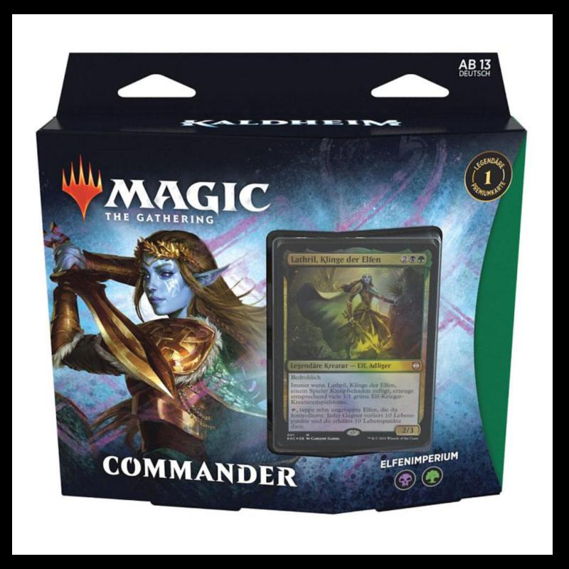 Ludibrium-Magic the Gathering - Kaldheim Commander Deck deutsch