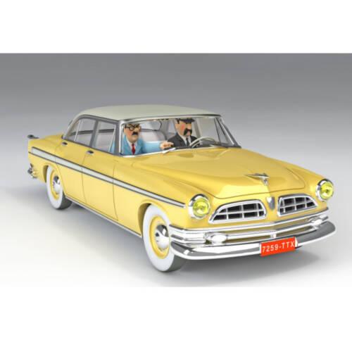 Ludibrium-Tim und Struppi - der gelbe Chrysler Nº39 1:24 / la Chrysler jaune N°39 1:24