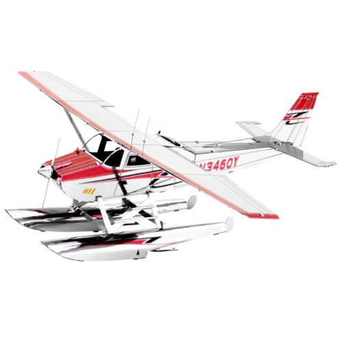 Ludibrium-Metal Earth - Cessna 182 Floatplane MMS111