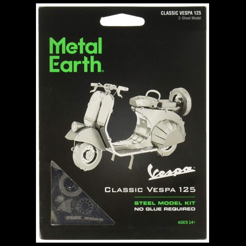Ludibrium-Metal Earth - 1955 Vespa 125 MMS154