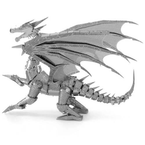 Ludibrium-Metal Earth - Iconx Silver Dragon ICX023