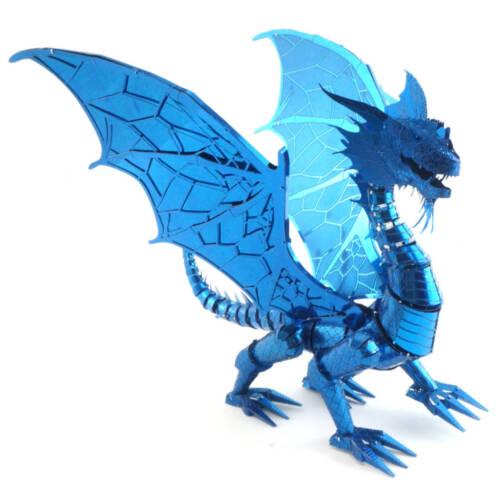 Ludibrium-Metal Earth - Iconx Blue Dragon ICX114