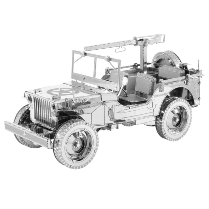 Ludibrium-Metal Earth - Iconx Willys Jeep ICX107