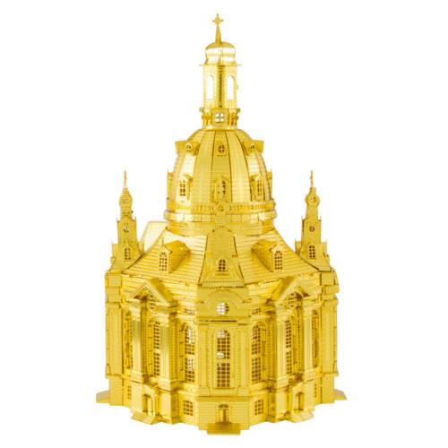 Ludibrium-Metal Earth - Iconx Dresden Frauenkirche ICX119 / Gold Edition