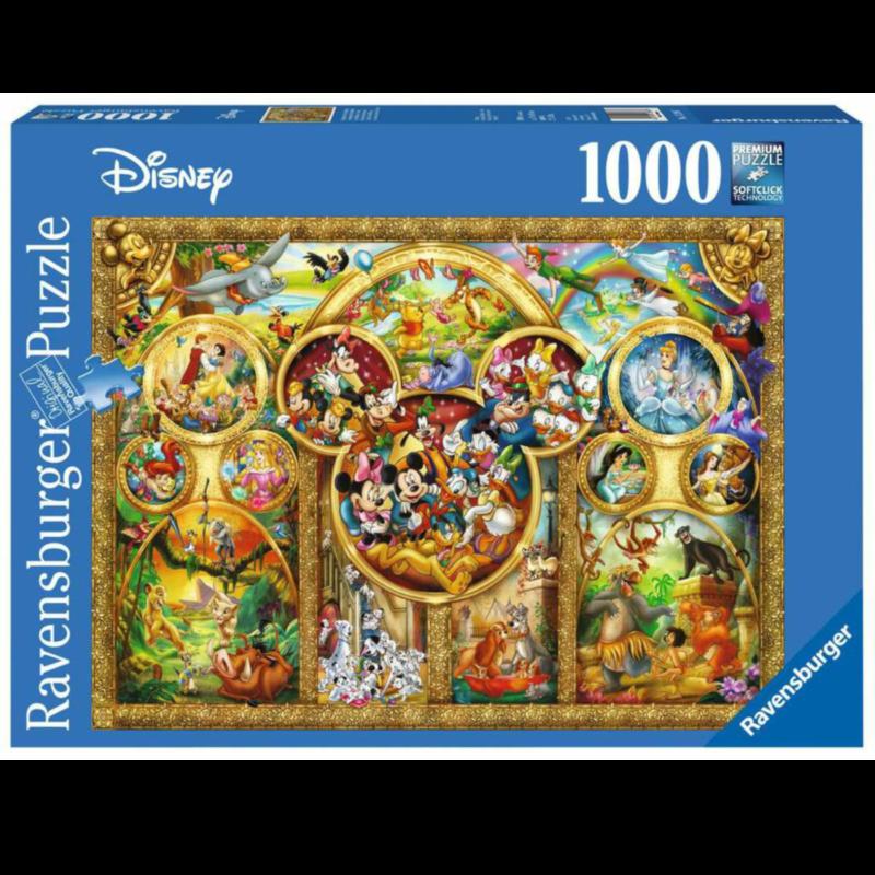 Ludibrium-Ravensburger Puzzle - die schönsten Disney Themen - 1000 Teile
