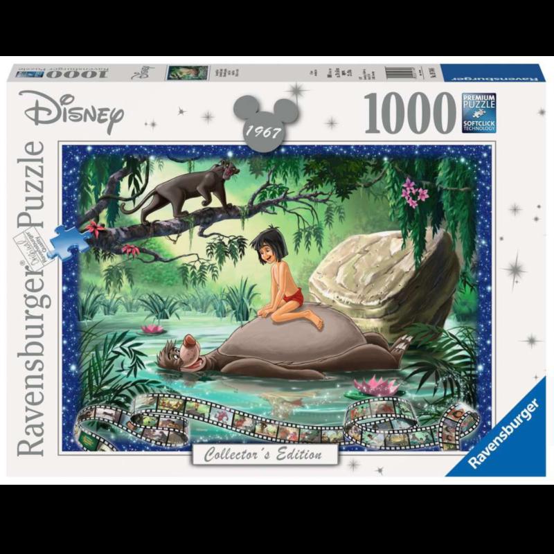 Ludibrium-Ravensburger Puzzle - das Dschungelbuch - 1000 Teile / Collector's Edition