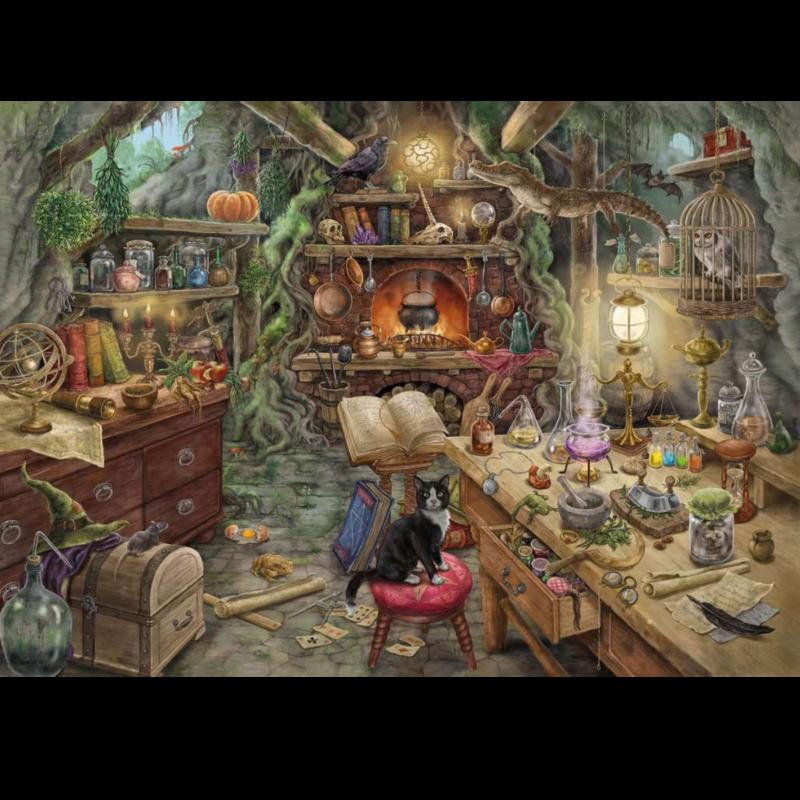 Ludibrium-Ravensburger Puzzle - Escape 3 - Hexenküche - 759 Teile