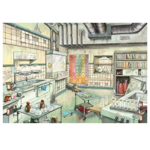 Ludibrium-Ravensburger Puzzle - Escape - Das Labor - 368 Teile