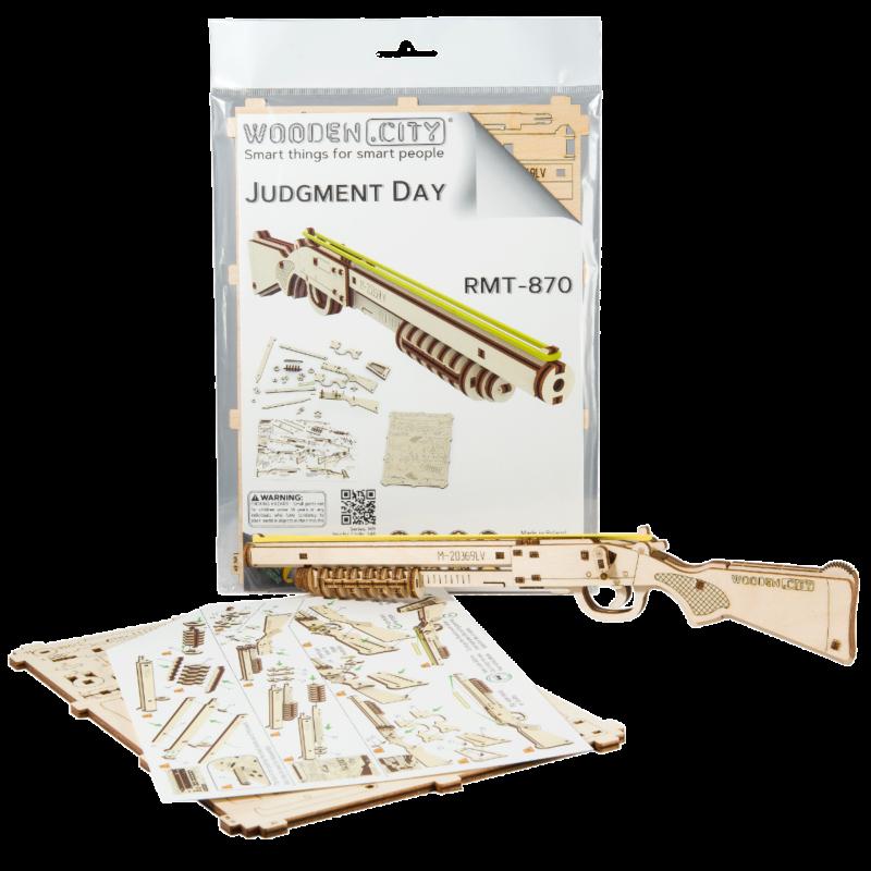 Ludibrium-Wooden.City - Judgement Day RMT-870 WR348 - Holzbausatz