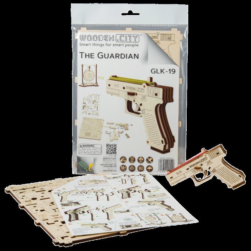 Ludibrium-Wooden.City - The GuardianGLK-19 WR 349 - Holzbausatz