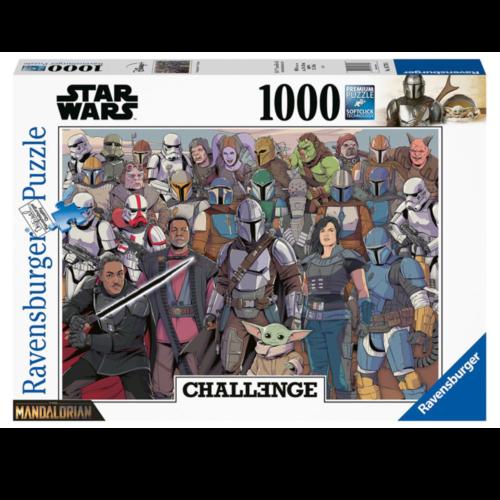 Ludibrium-Ravensburger - Challenge Baby Yoda - 1000 Teile