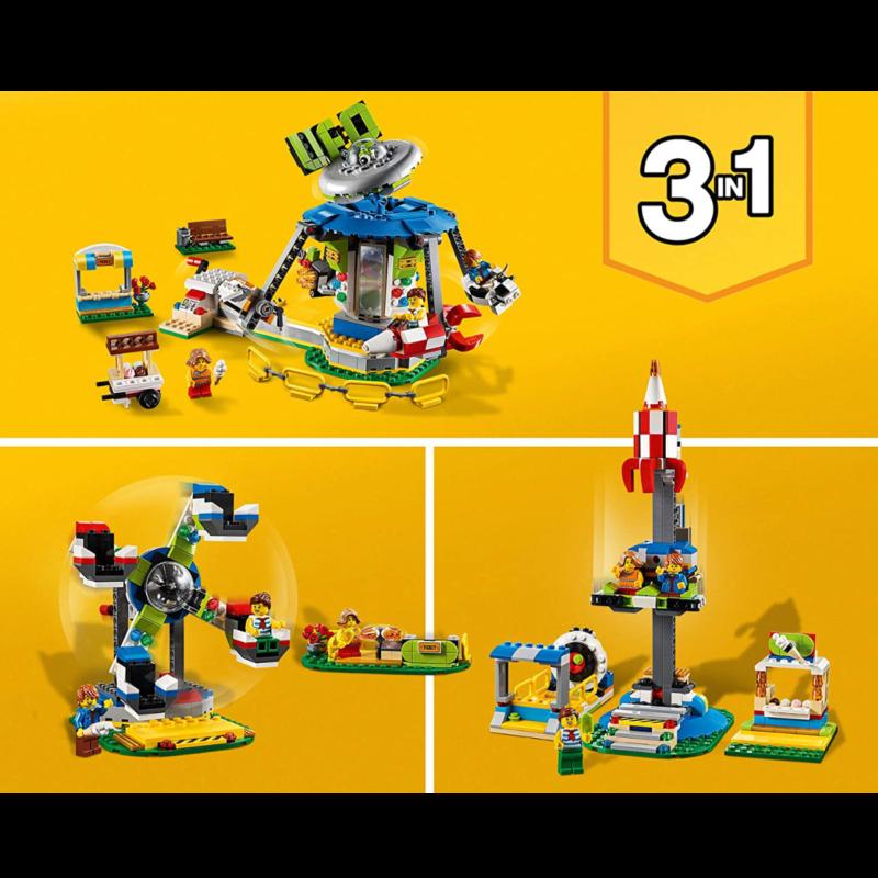 Ludibrium-LEGO Creator 31095 - Jahrmarktkarussell