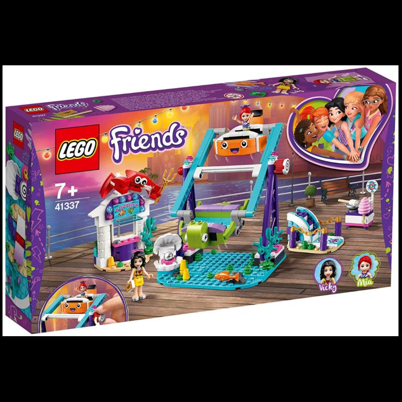Ludibrium-LEGO Friends 41337 - Schaukel mit Looping im Vergnügungspark - Klemmbausteine