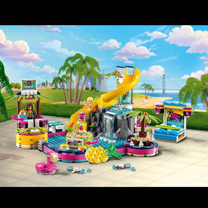 Ludibrium-LEGO Friends 41374 - Andreas Pool-Party