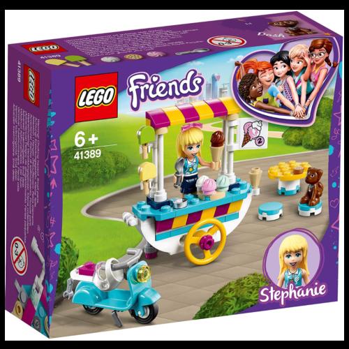 Ludibrium-LEGO Friends 41389 - Stephanies mobiler Eiswagen - Klemmbausteine