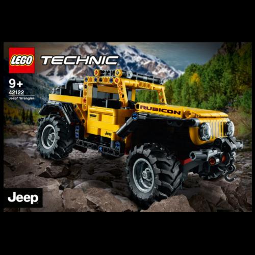 Ludibrium-LEGO Technic 42122 - Jeep Wrangler - Klemmbausteine
